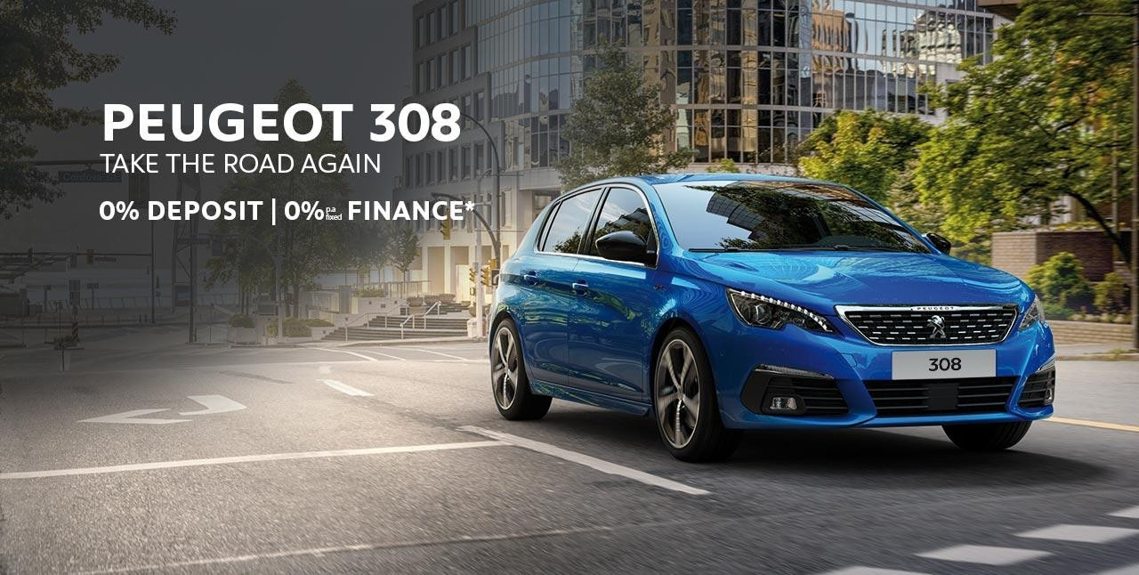 PEUGEOT 308 | 0% Finance* Offer | Buy Now at your PEUGEOT Dealer