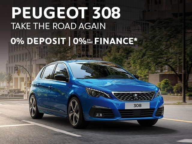 PEUGEOT 308 | 0% Finance* Offer | Buy Now at your PEUGEOT Dealer