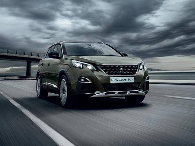 PEUGEOT 3008 SUV GT front end design
