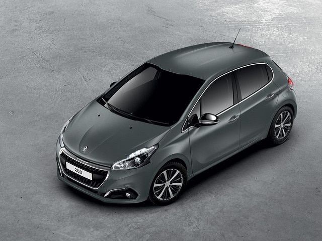 PEUGEOT 208 Ice Silver Textured Paint