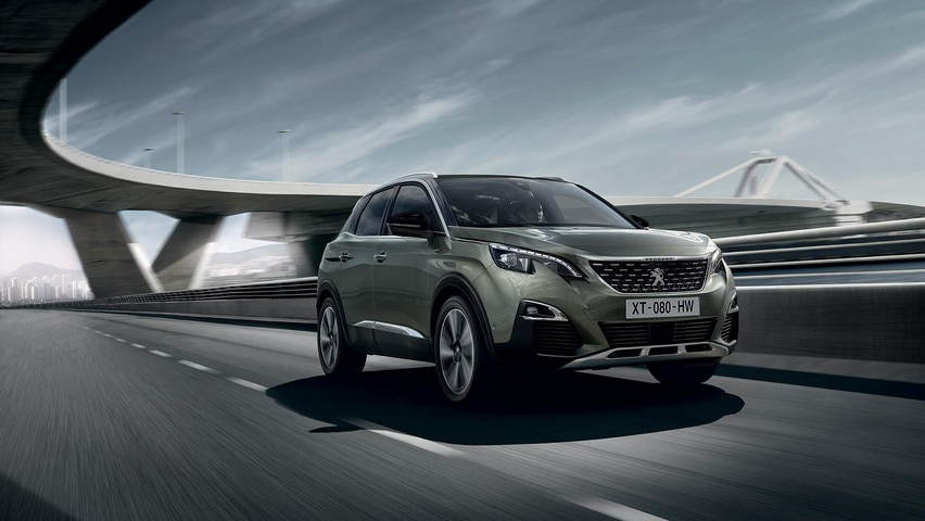 PEUGEOT 3008 SUV GT photo gallery
