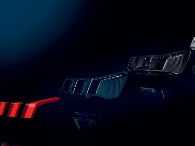 PEUGEOT 3008 SUV LED 3D effect rear lights