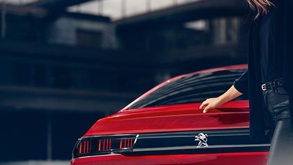 PEUGEOT 508 Fastback Design | Rear Lights