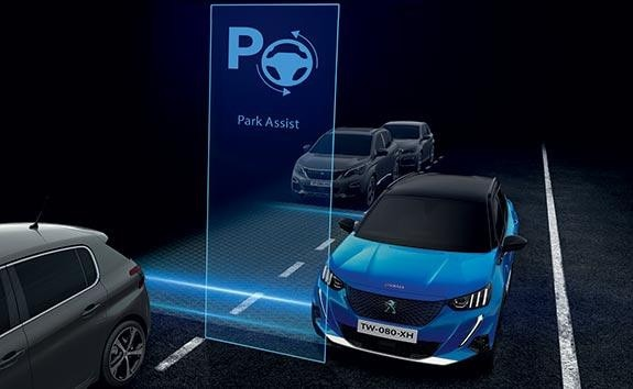 PEUGEOT 2008 SUV Technology | Park Assist