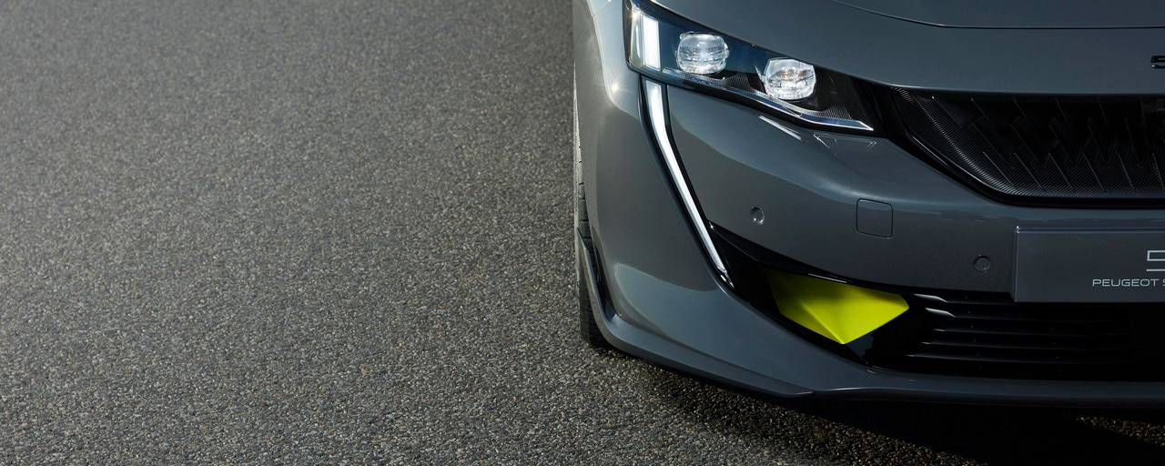 Front of the Concept 508 PEUGEOT SPORT ENGINEERED