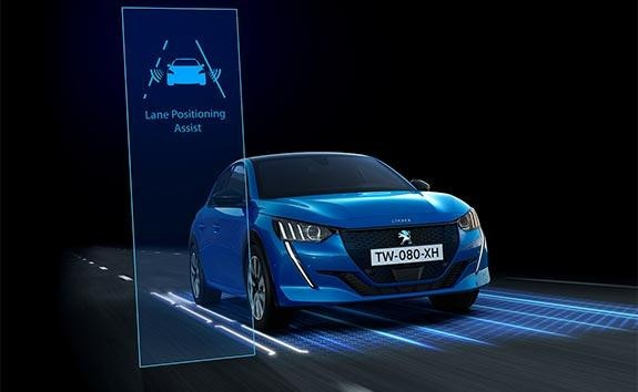 New PEUGEOT 208 Hatchback Technology | Lane Keeping Assist