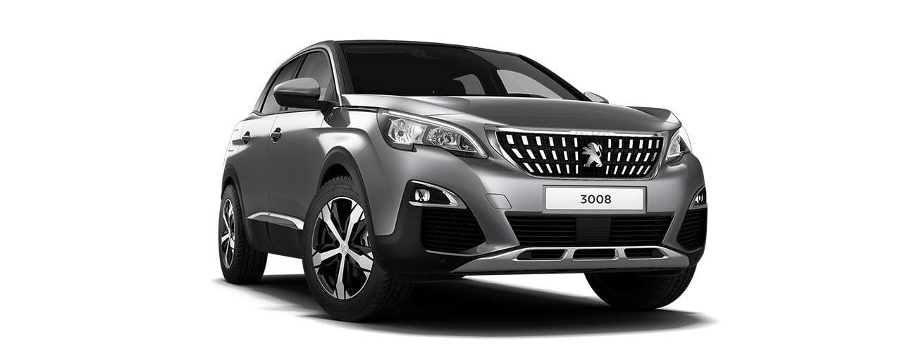 PEUGEOT 3008 SUV Crossway Special Edition Exterior Design