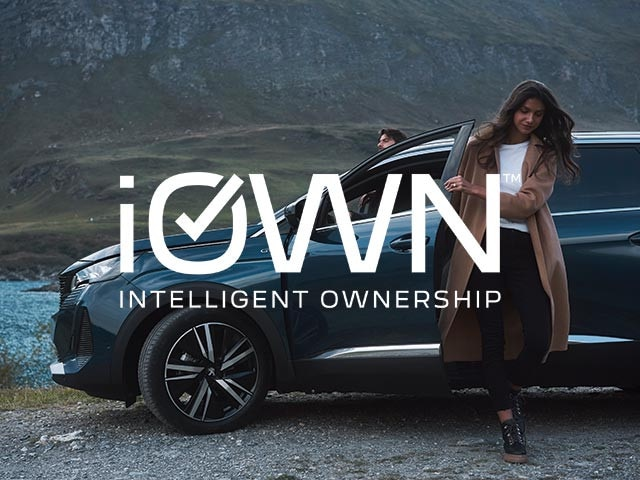 PEUGEOT iOWN Intelligent Ownership | No Deposit, Low Weekly Payments and Guaranteed Future Value