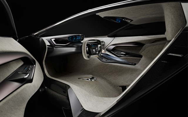 peugeot onyx concept car | future car technology