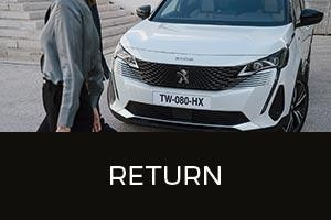 PEUGEOT iOWN Intelligent New Car Ownership | End Of Term Return