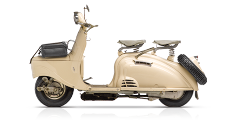 Two-wheelers – 1955, S55 scooter launch