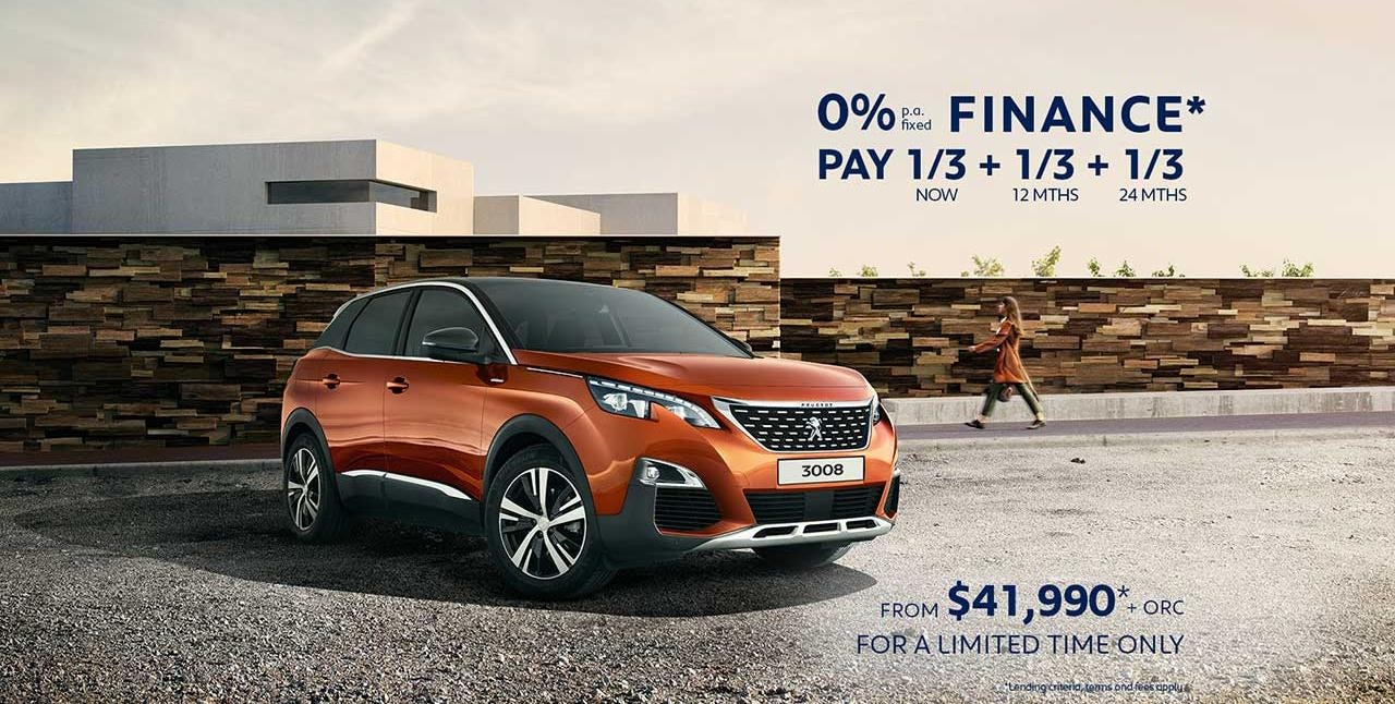 PEUGEOT 3008 SUV Finance Offer | Buy Now With This Attractive Finance Offer