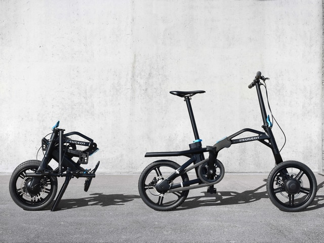 Two-wheeler – eF01 electric folding cycle