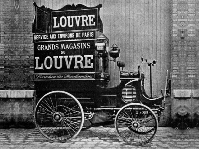 Utility vehicles – photo of the Peugeot type 13 launched in 1895
