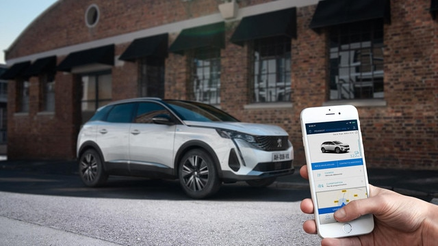 New PEUGEOT 3008 SUV HYBRID – MyPeugeot Application
