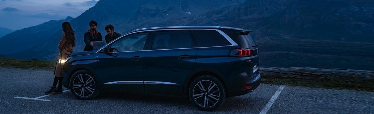 New Large 7-Seat PEUGEOT 5008 SUV   Accessories