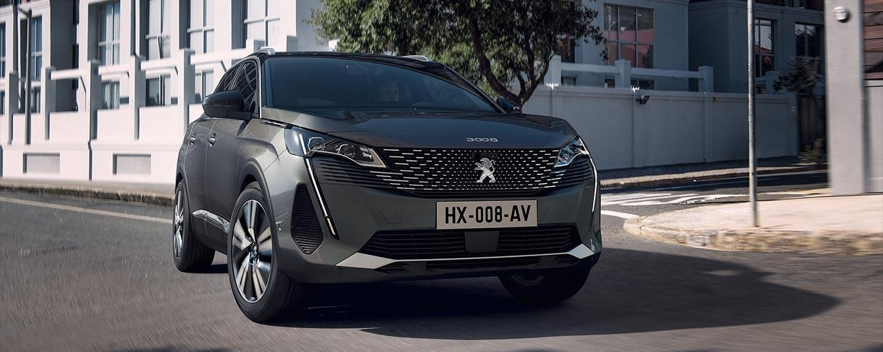New PEUGEOT 3008 SUV design | New front face with a strong personality