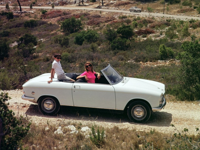 Two centuries of innovation – convertible saloon with diesel engine in 1967