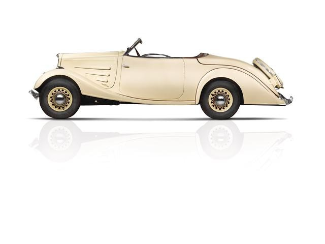 Two centuries of innovation – Eclipse with folding roof, idea produced in 1934