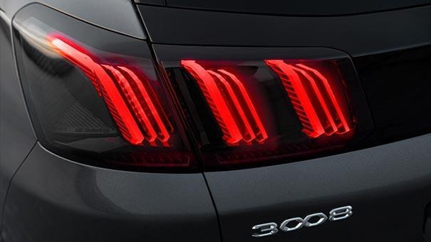 New PEUGEOT 3008 SUV Design | New Rear Lights