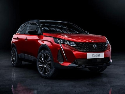 New PEUGEOT 3008 SUV HYBRID4 Design | Black Pack Front