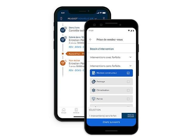 MyPEUGEOT App for iOS and Android | Manage Your Servicing and Maintenance