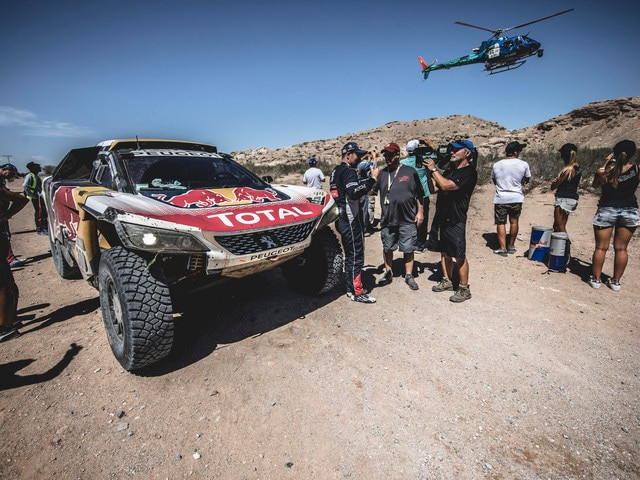 Dakar 2017 – The Peugeot 3008 DKR wins the competition