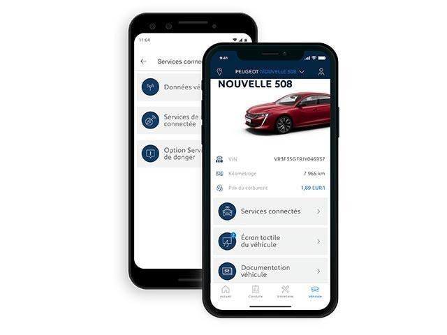 MyPEUGEOT App for iOS and Android | Vehicle Information