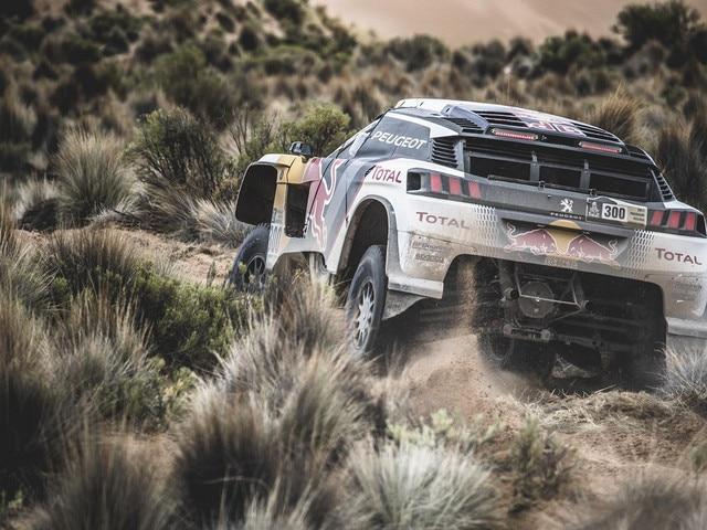 Peugeot Sport - Dakar 2017 Peugeot 3008 DKR