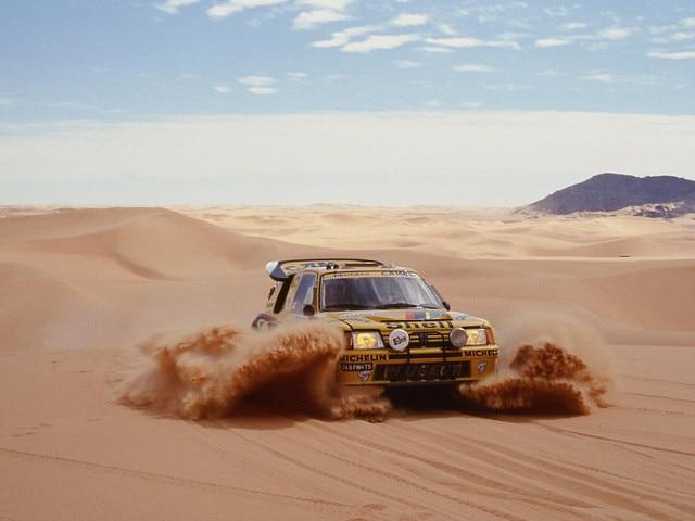 Peugeot Sport - Peugeot 205 Turbo 16 Paris-Dakar 1987