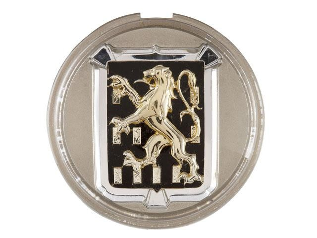 The Peugeot Lions – 1948 Lion from the Franche-Comté coat of arms for the 203