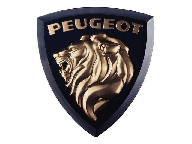 The Peugeot Lions – a more modern-style gold Lion for the 404 in 1960