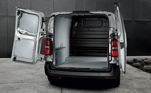 PEUGEOT Expert Van | Rear Barn Doors and Twin Sliding Side Doors