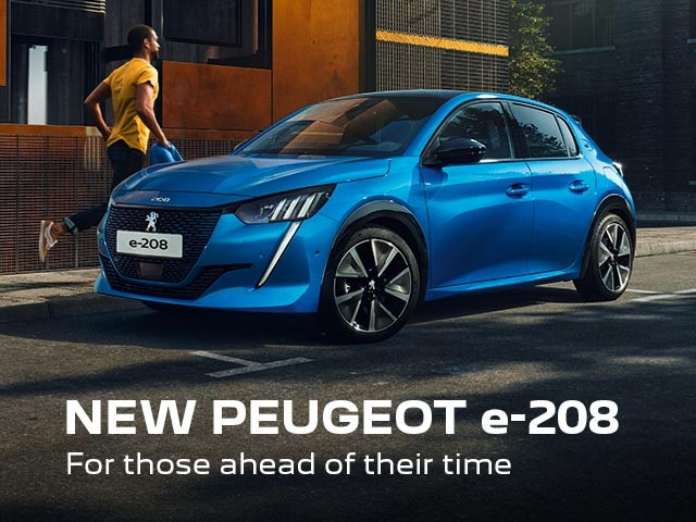 New PEUGEOT e-208 Electric Vehicle | For Those Ahead Of Their Time