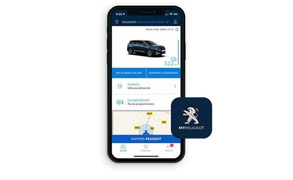 New large PEUGEOT 5008 SUV with 7 Seats | MyPEUGEOT® App