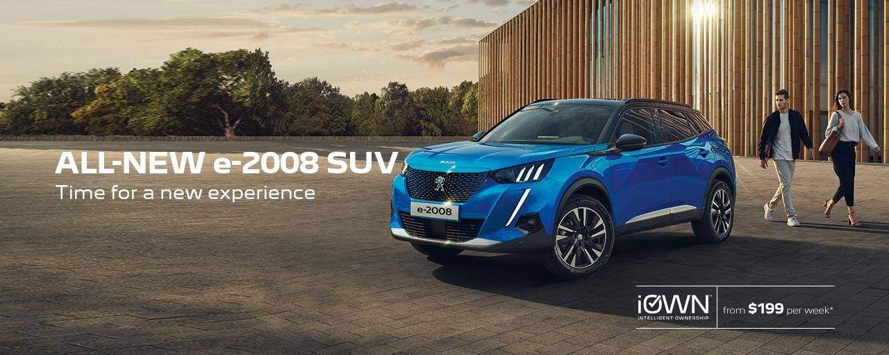 New PEUGEOT e-2008 SUV Electric Vehicle | Time For A New Experience