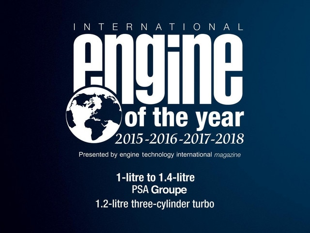 PEUGEOT PureTech International Engine of the Year 2018