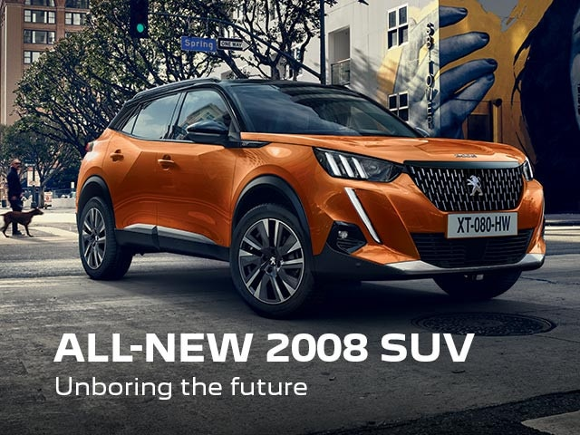 All-New PEUGEOT 2008 SUV | Unboring The Future