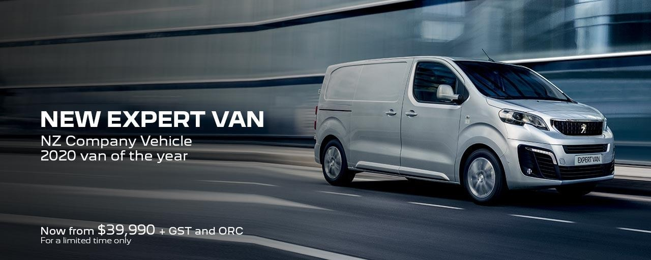 PEUGEOT Expert Van | Now From $39,990 + GST and ORC for a limited time