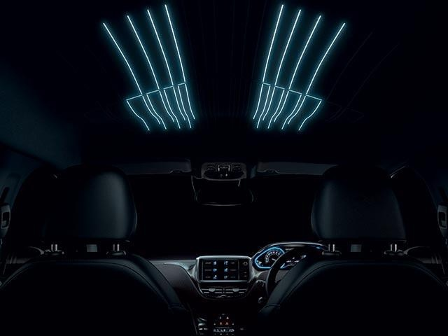 PEUGEOT 2008 SUV mood lighting