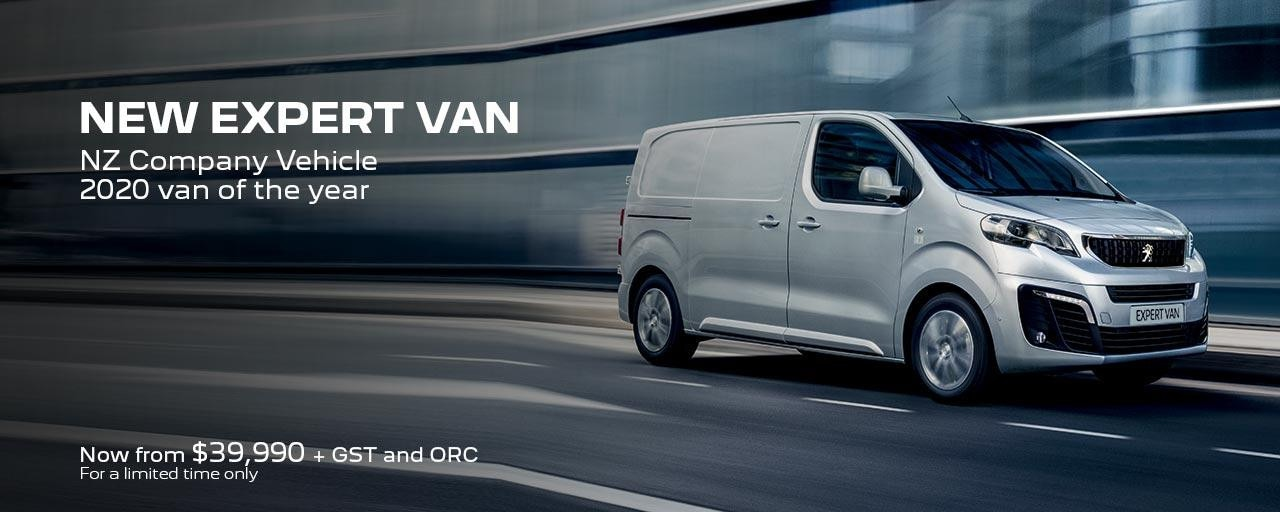 PEUGEOT Expert Van | From $39,990 + GST + ORC For a Limited Time