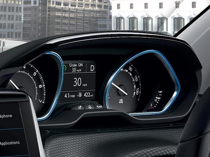 PEUGEOT 2008 SUV head up instrument panel
