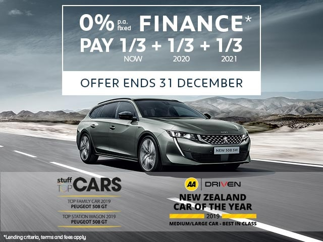 Multiple Award-Winning PEUGEOT 508 SW Value | Buy Now With Attractive Finance Offer