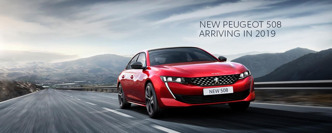 New PEUGEOT 508 Arriving in 2019