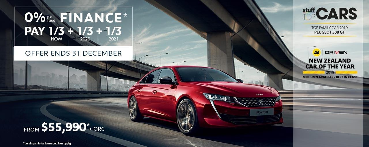 Multiple Award-Winning PEUGEOT 508 Fastback Value | Buy Now With Attractive Finance Offer
