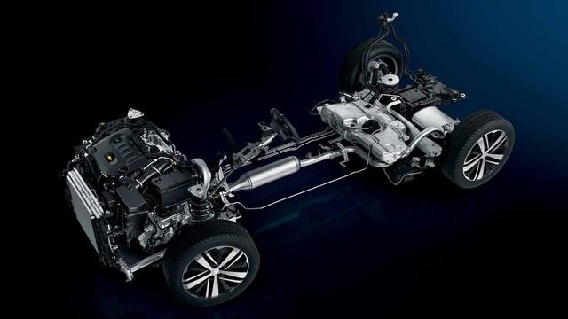 Peugeot 3008 EMP2 Plateform
