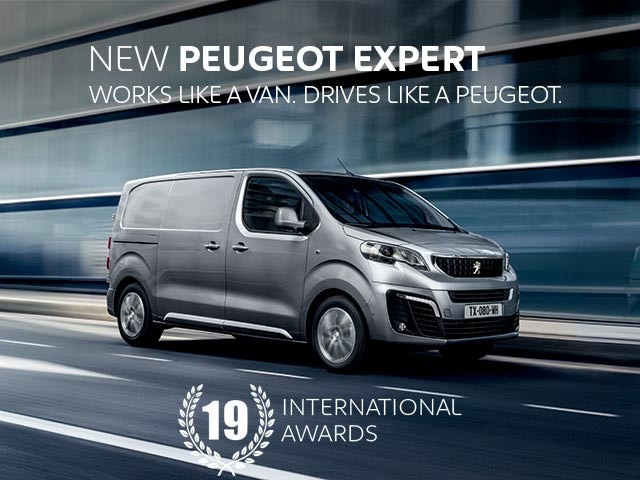 New PEUGEOT Expert Van | Works Like a Van. Drives Like a PEUGEOT.