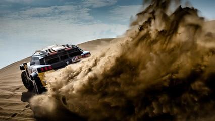 Dakar 2018 Peugeot Total Team - 3008 DKR Maxi