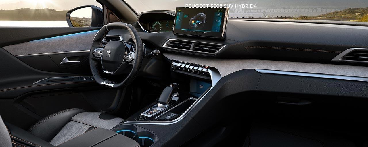 New PEUGEOT 3008 SUV HYBRID4 | PEUGEOT iCockpit® Interior