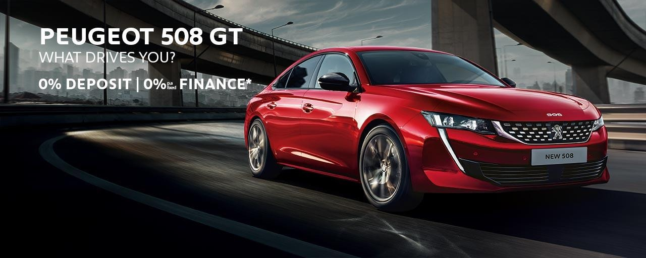 PEUGEOT 508 Fastback GT | 0% Finance* Offer | Buy Now at your PEUGEOT Dealer